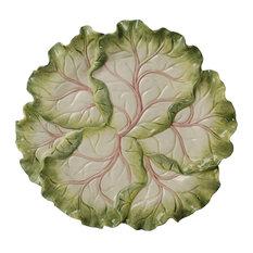 Kaldun and Bogle Home Decor French Garden Cabbage Platter