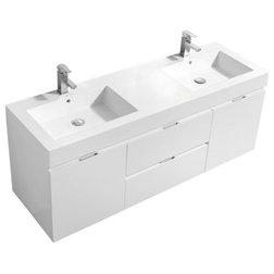 Modern Bathroom Vanities And Sink Consoles by KubeBath LLC
