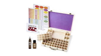 72 Bottle Wooden Large Essential oil storage Box with Bottle Opener and Lable St