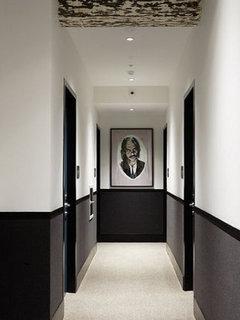 Couloir - Peinture soubassement ...