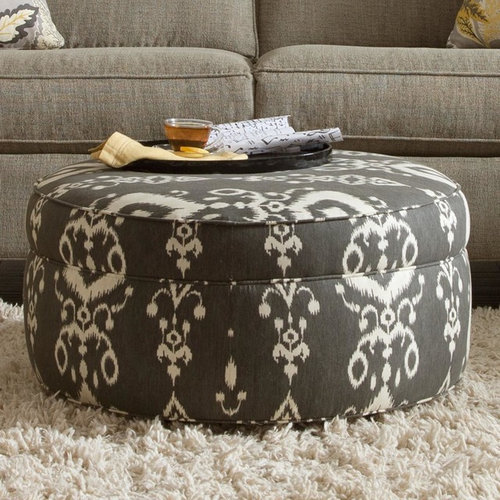 Coffee Table Vs. Ottoman, Rectangular Vs. Round?