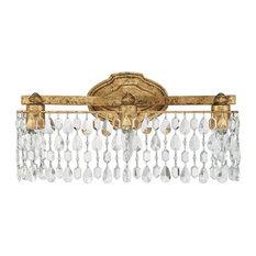 Bathroom Vanity Lights Gold traditional gold bathroom vanity lights | houzz