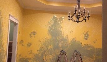 Faux Gold Fresco