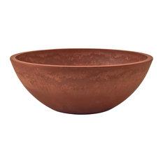 Garden Bowl, Terra-Cotta, Large