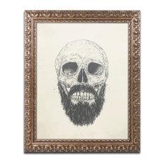 Balazs Solti 'The Beard Is Not Dead' Ornate Framed Art, 11x14