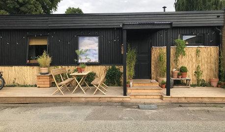 Före och efter: Radhuset i Bjärred fick en överraskande inredning