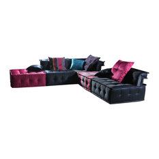 Versus - Versus Chloe - Modern Fabric Sectional Sofa - Sectional Sofas