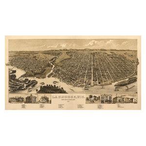 Quot Fort Atkinson Wisconsin Panoramic Map Quot Print
