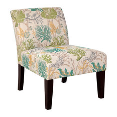 Under the Sea Armless Accent Chair