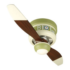 "Craftmade Youth Fans 42"" 2-Blade Flush Mount Indoor Ceiling Fan, Sopwith Camel"