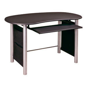 Osp Designs Sierra Writing Desk Ash Finish With Pull Out