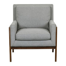 Heather Wood Frame Accent Chair