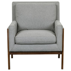 Transitional Armchairs And Accent Chairs by HomeFare