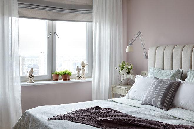Современный Спальня Фьюжн Спальня