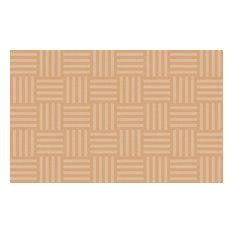 Hashtag Tone-On-Tone Almond Rug, 7'6x12'