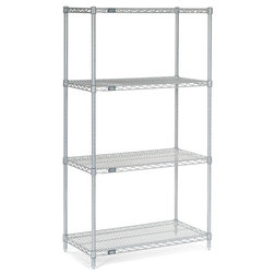 Contemporary Utility Shelves by Nexel Industries Inc
