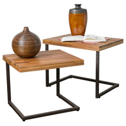 Industrial Coffee Table Sets by GDFStudio