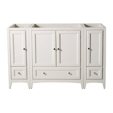 "Fresca Oxford 54"" Bathroom Vanity Cabinet, Antique White"