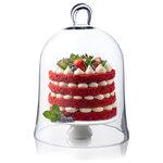 "CYS Excel - Glass Cloche Bell Jar, H-12"" D-8.5"" Plant Terrarium Dome, Pack of 1 - CYS  Glass Cloche Bell Jar, Plant Terrarium. Pack of 1 pc, 2 pcs or 4 pcs"