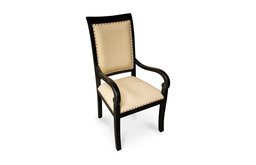 Henery Armed Side Chair - Hand Rubbed Black