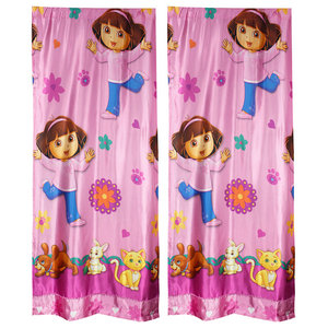 Dora the Explorer Valance Doras Pets Window Treatment