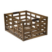 Melina Wooden Storage Crate