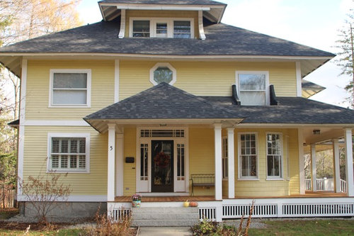 Pale Yellow Exterior Paint