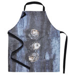 SNOKU - Apron Oyster | Adult - Fresh oysters print will delight any seafood lover.