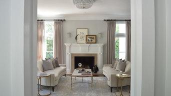 Tuxedo Park Formal Living Room