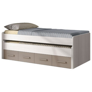 Ares Plus Trundle Bed With 2 Drawers