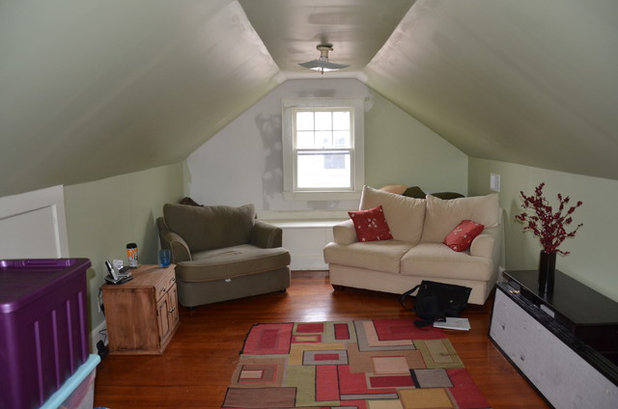 Room of the Day: Renovation Turns Attic into a Grown-Up Retreat