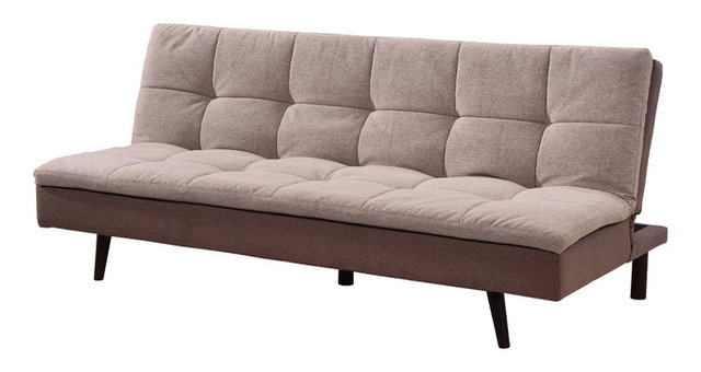 Emma Click Clack Sofa Bed, Light Brown