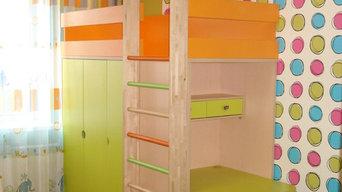 Детская комната для большой семьи