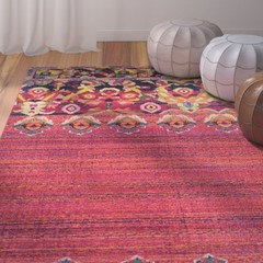 Rug for Eclectic Bohemian Style