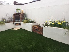 Should I Paint My Garden Wall Houzz Uk
