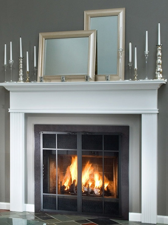 Fireplace Doors For Prefabricated Fireplace | Home Decorating ...
