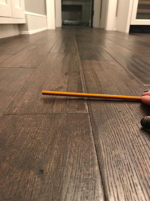 Low Spot In New Hardwood Floor