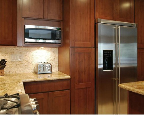 Carbonized Bamboo Kitchen Cabinets Kitchen Cabinetry