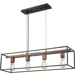 Industrial Kitchen Island Lighting by Buildcom