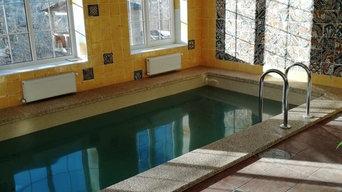 Строительство закрытого бассейна в Горячем ключе
