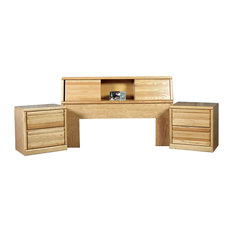 Bullnose Queen Bookcase Headboard