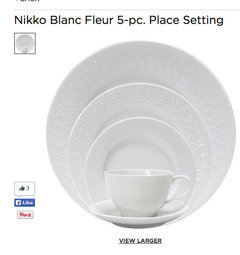 For Your Formal Elegant Dinners Spring The Expensive China Get Something With A Gold Or Platinum Edging Build Up To Having An Entire Set
