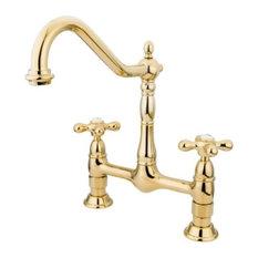Unlacquered Brass Kitchen Faucets Houzz