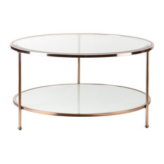 Most Popular Round Glass Coffee Tables For Houzz - Houzz glass coffee table