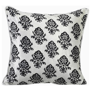 The Pillow Collection Wauna Floral Bedding Sham Chili Pepper King//20 x 36