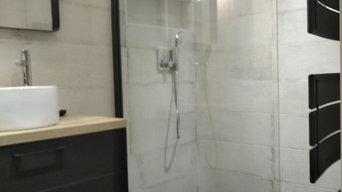 Rénovation d'une salle de bains a Saint pair sur Mer