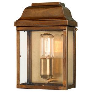 Victoria Wall Lantern, Brass