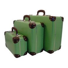 Cargo Traveler Weekender Suitcases, 3 set, Soft Green