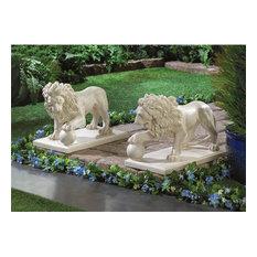 Koehlerhomedecor.com   Koehler Regal Outdoor Lion Statues, 2 Piece Set    Garden