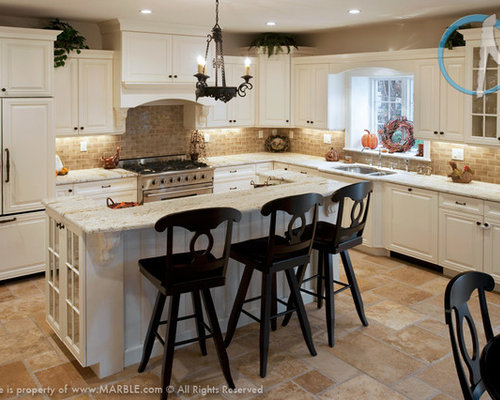 Colonial Gold Granite Kitchen Countertops By Marble.com